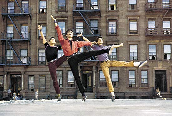 Actors Imitating Jerome Robbins