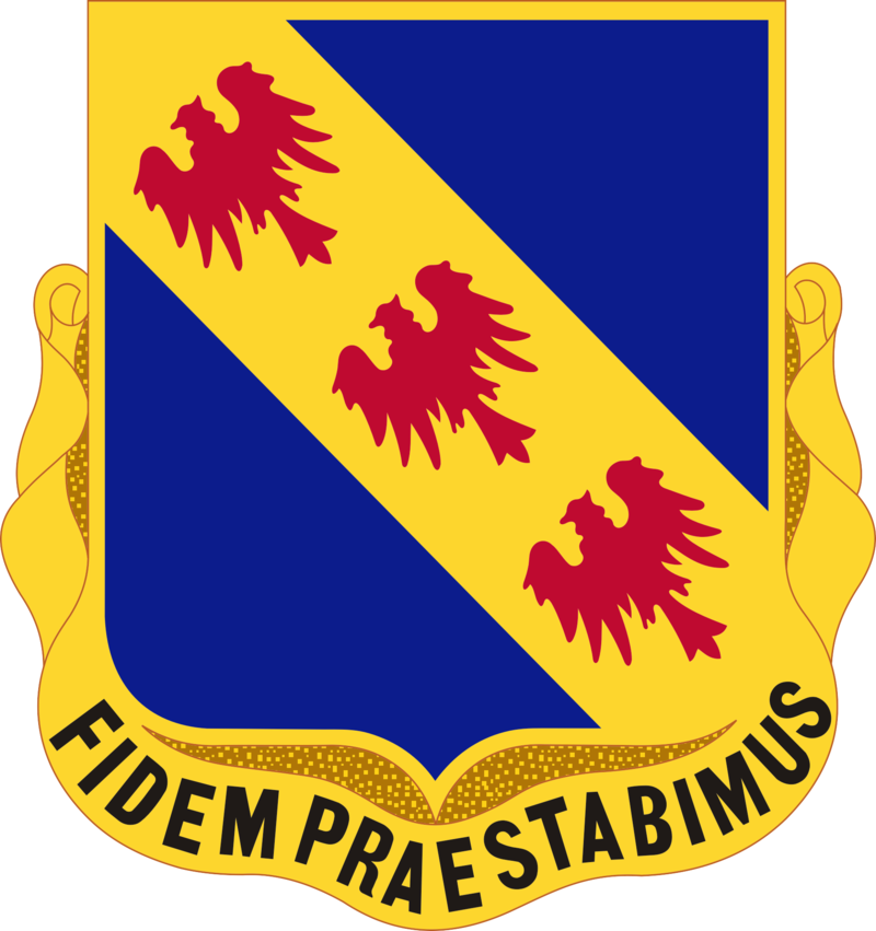 355 Infantry Regiment Distinctive Unit Insignia