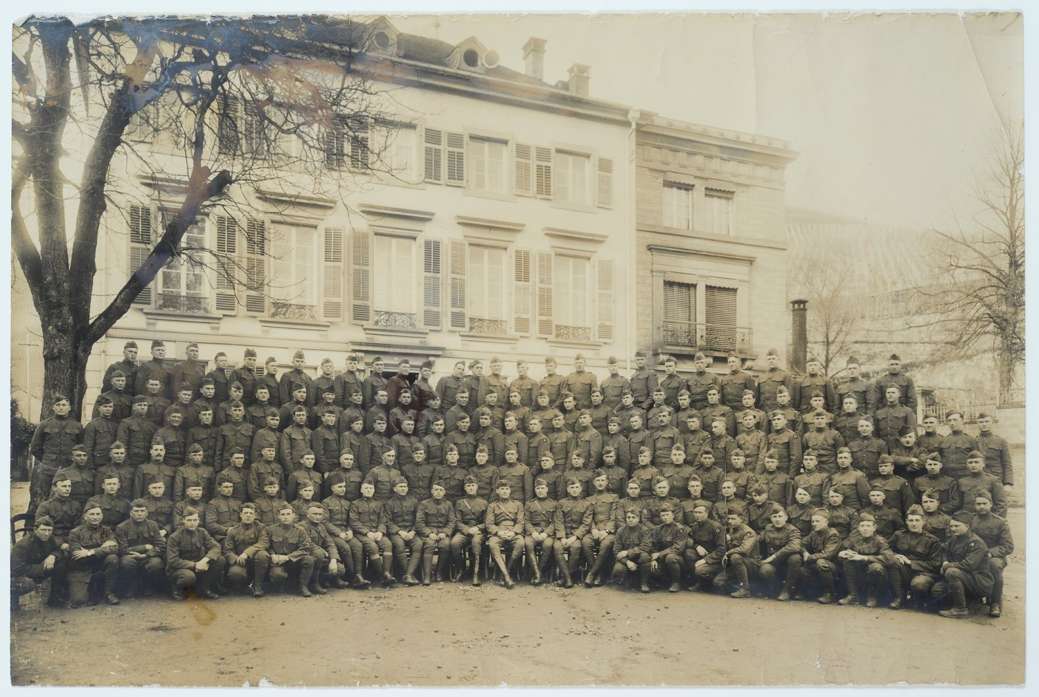 355 Infantry of the 89th Division Company