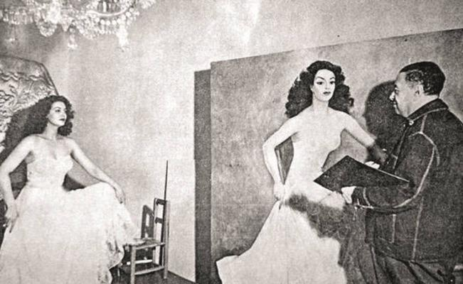 Maria Felix and Diego Rivera