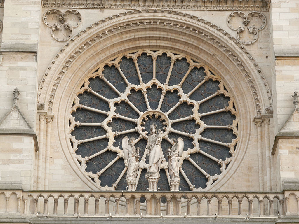 The early Rose Window