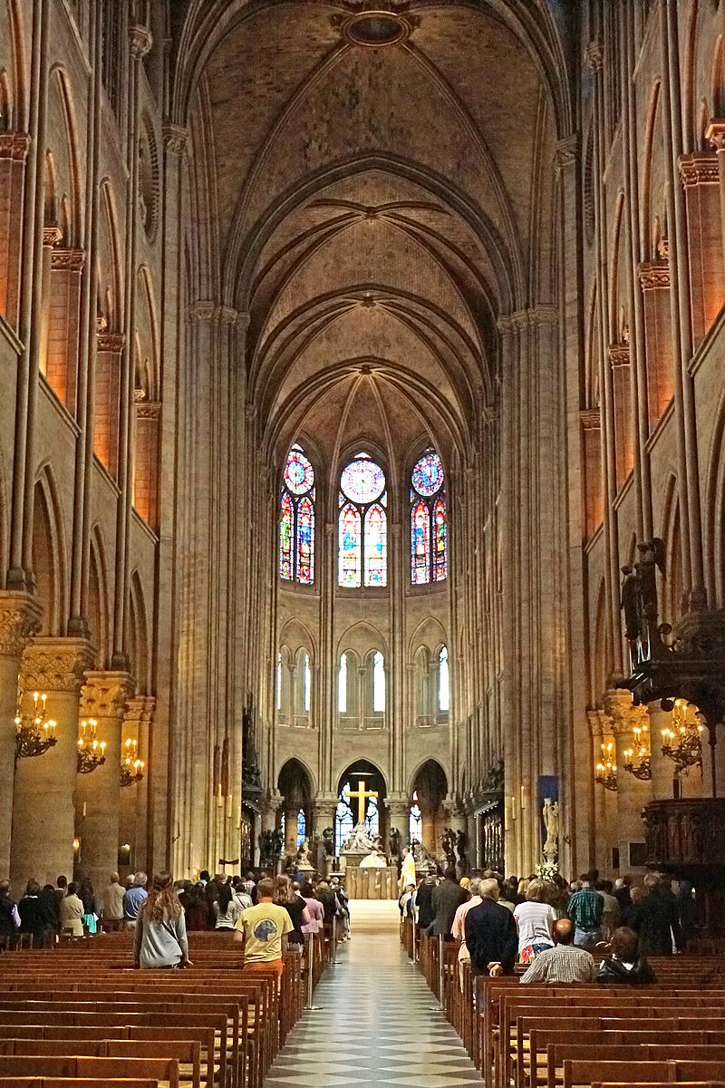 Hall of Notre Dame