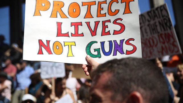 Protect Lives not guns