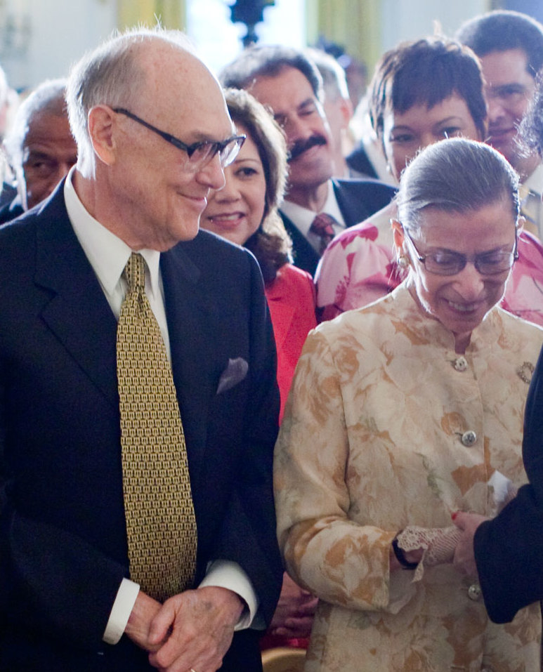 Justice Ruth Bader Ginsburg and her husband Martin D. Ginsburg in 2009