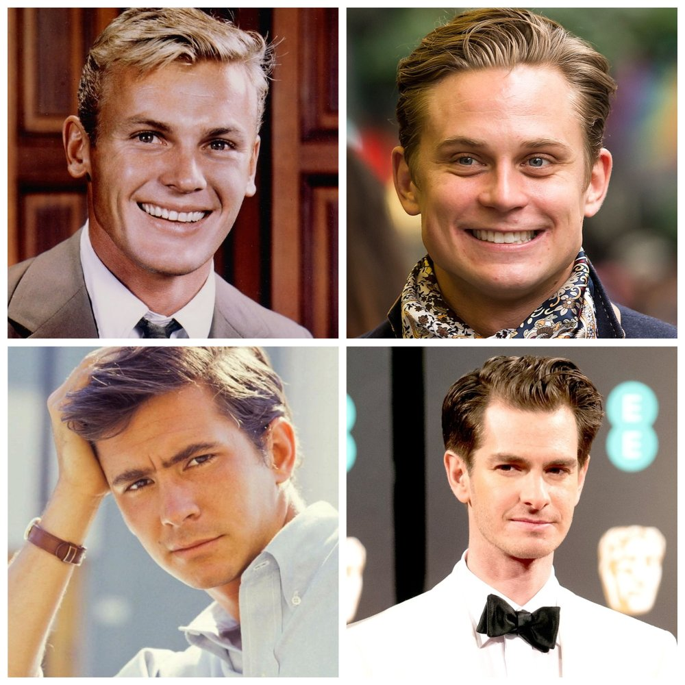 Movie Tab and TonyTab Hunter and Anthony Perkins movie Billy Magnussen and Andrew Garfield