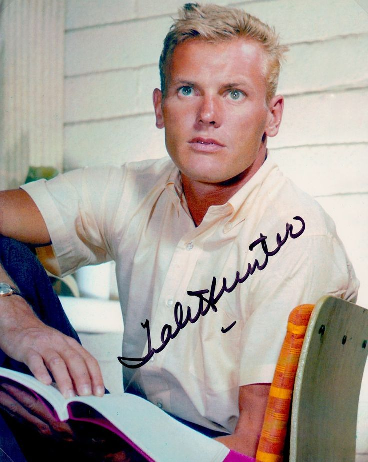 Tab Hunter Autograph