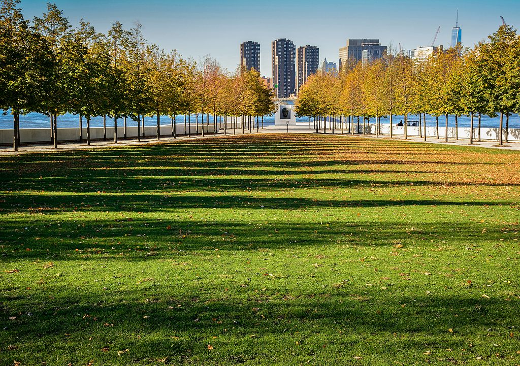FDR Four Freedoms Park in Manhattan