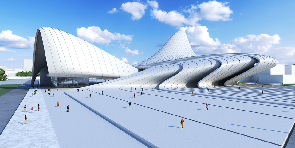 Zaha Hadid Architects Baku 1
