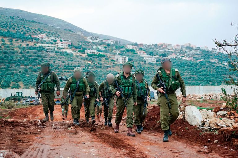 IDF Troops Along Israels Border