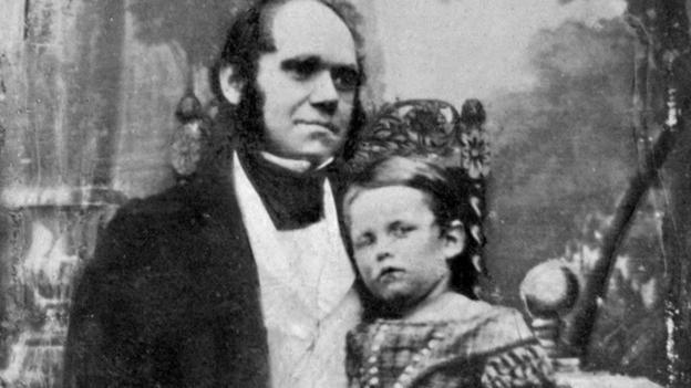 Charles_Darwin_with_his_Oldest_Sun_William_1842