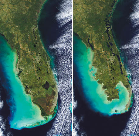 south florida 20 feet of sea level rise