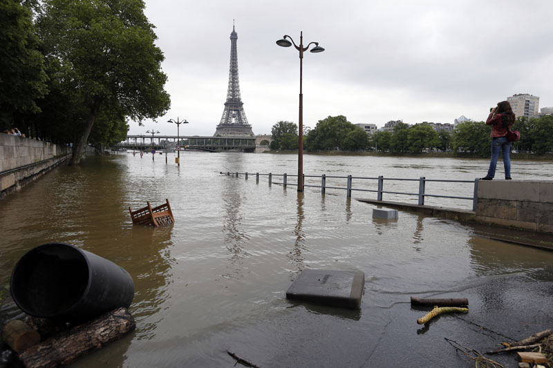 Europe flooding climate change global warming