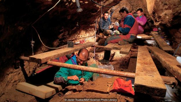 Excavations at Atapuerca