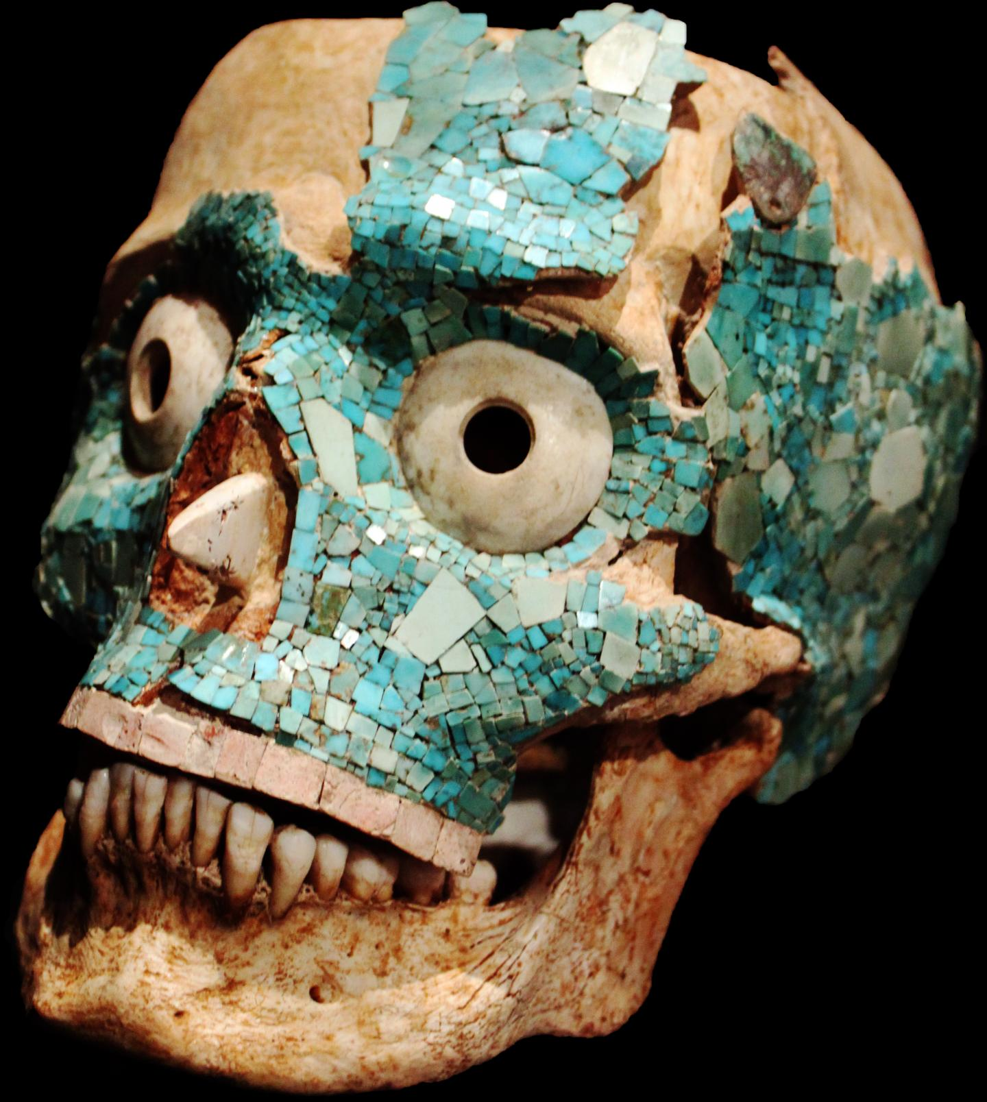 Mixtec funerary mask