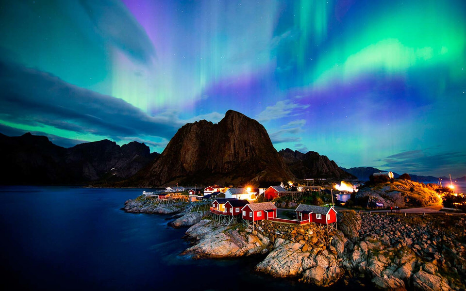 norway aurora borealis northern light 1
