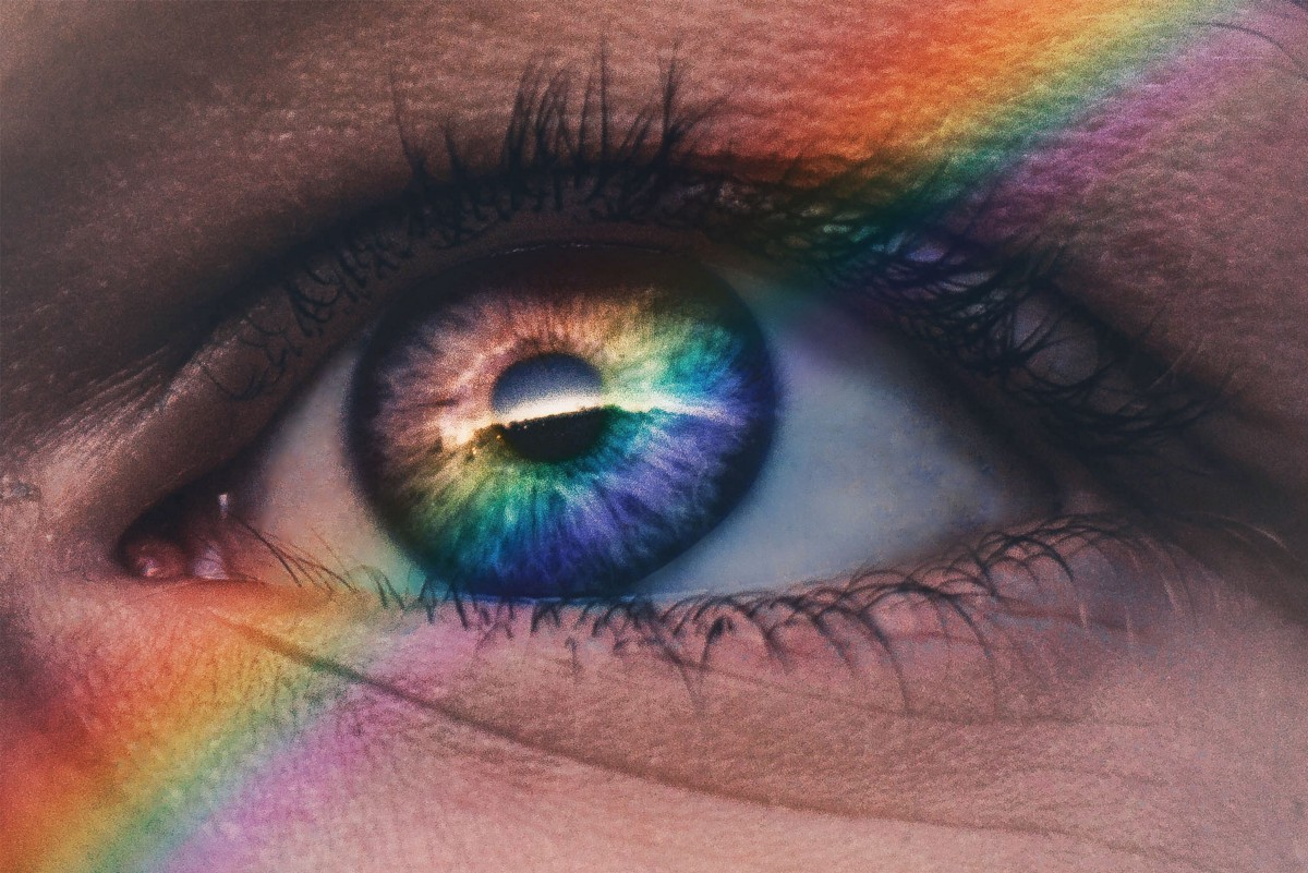 Rainbow throughthe eyes