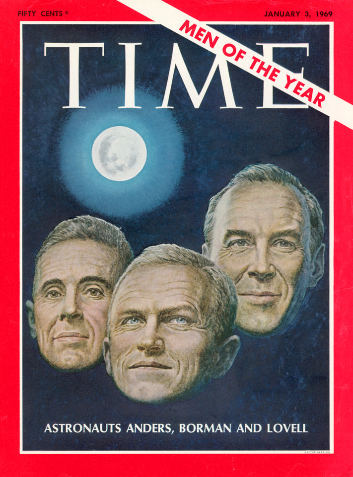 Time Man of the Year Austronauts Apollo 8 1