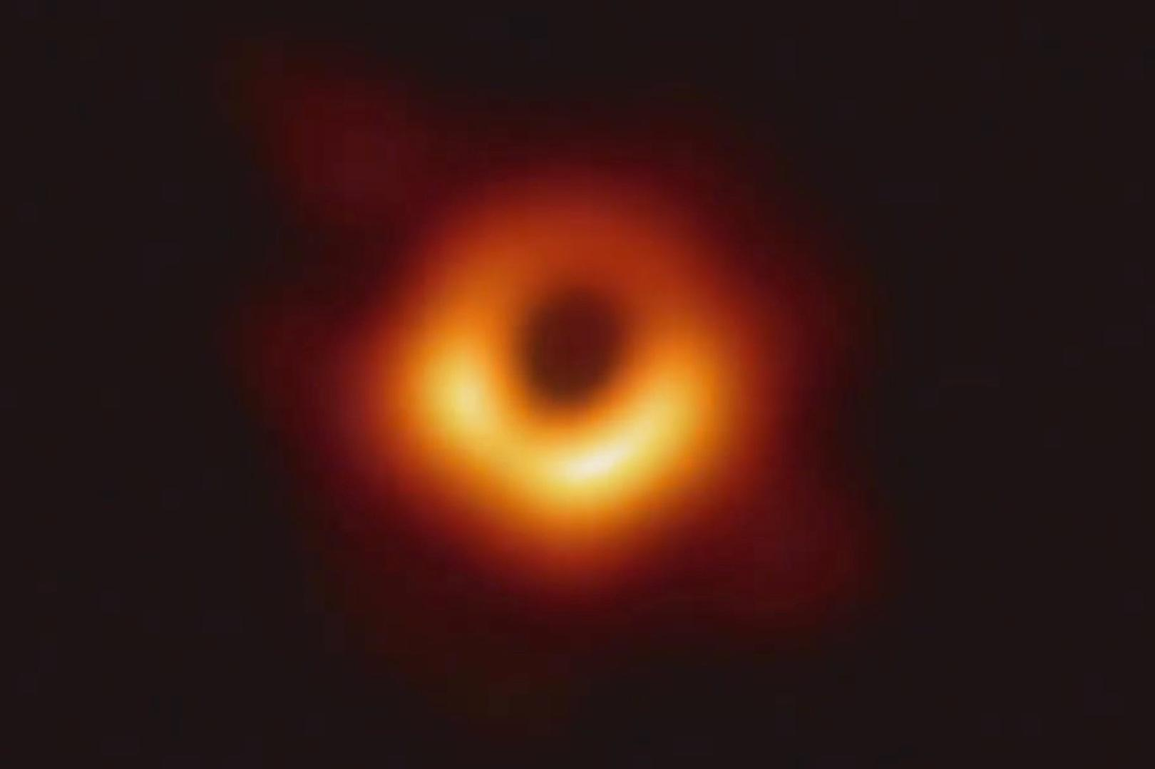 first Image of Black Hole Revealed