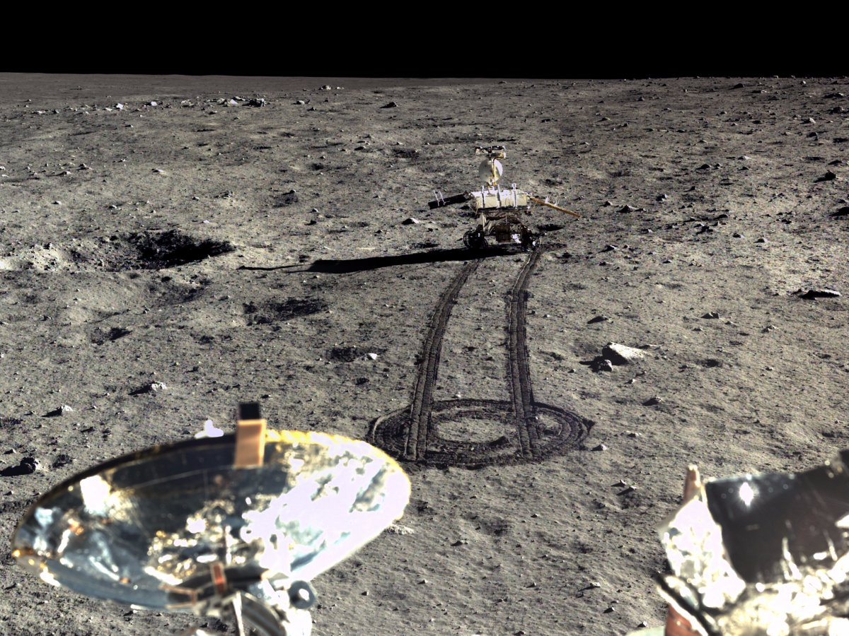 New Photos from China Moon Landing