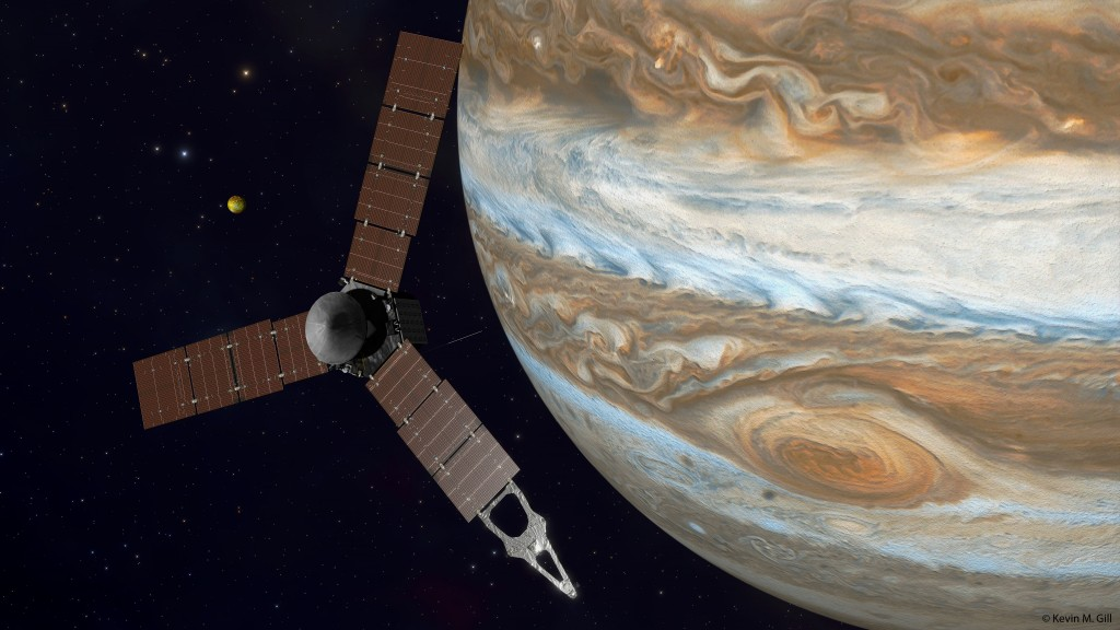 NASAs Juno Space Probe Expected to Reach Jupiter July 4 1024x576