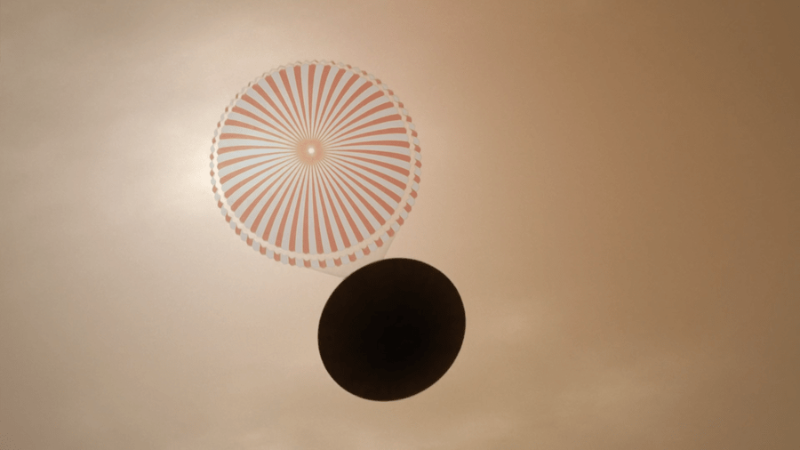 insight 02 parachute 900