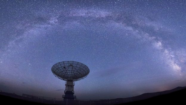 Radio Telescopes detect Fast Radio Bursts