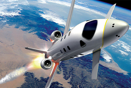 spacetravel plane