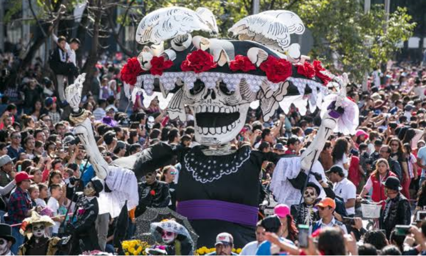 Catrina during 2019 parade