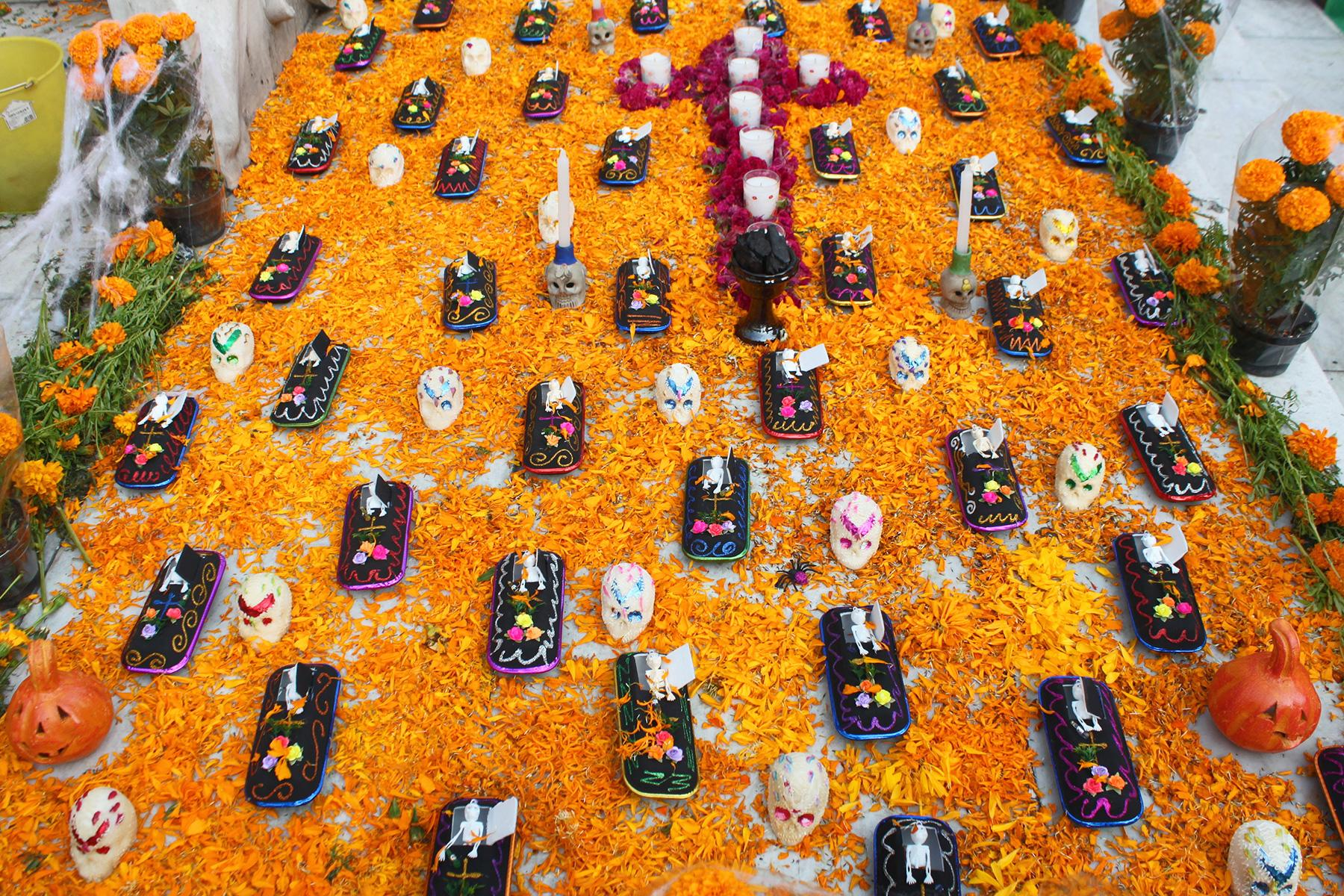Day of Death Celebration Table