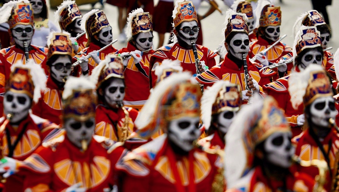 Mexico Day of Death Faces