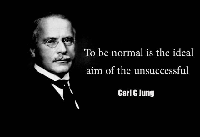 Carl Jung To Be Normal