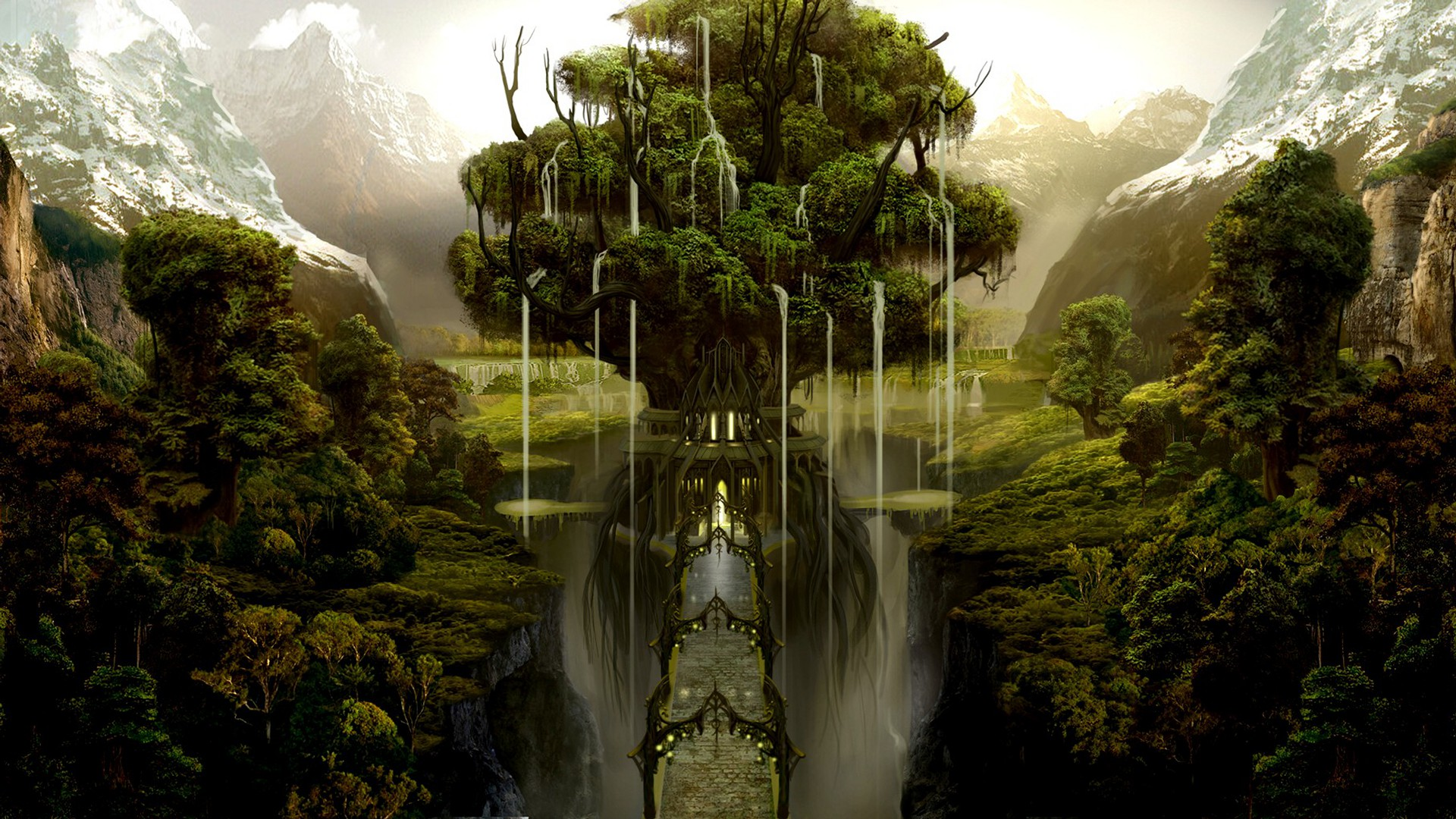 Yggdrasil is the ancient Norse tree of life