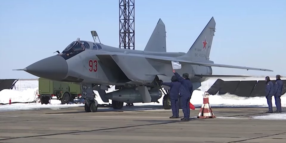 Mig 31 BM Interceptor with Hypersonic Cruise Missile