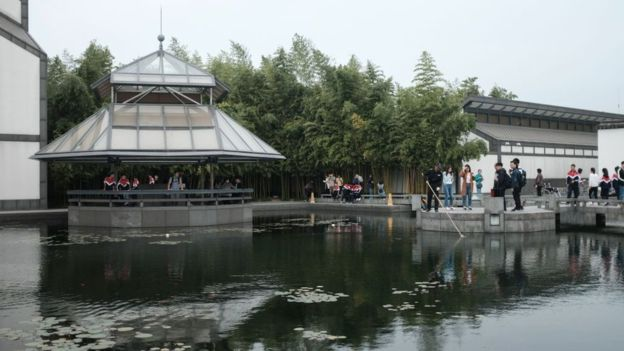 Suzhou Museum in China which was completed in 2006