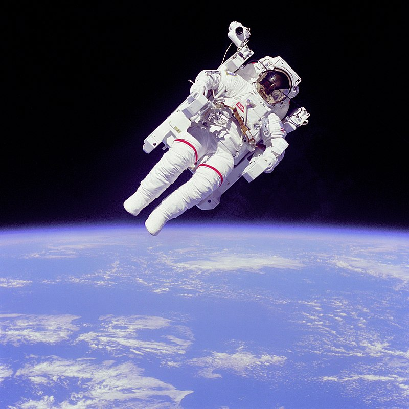 Bruce McCandless II Operating the Manned Maneuvering Unit
