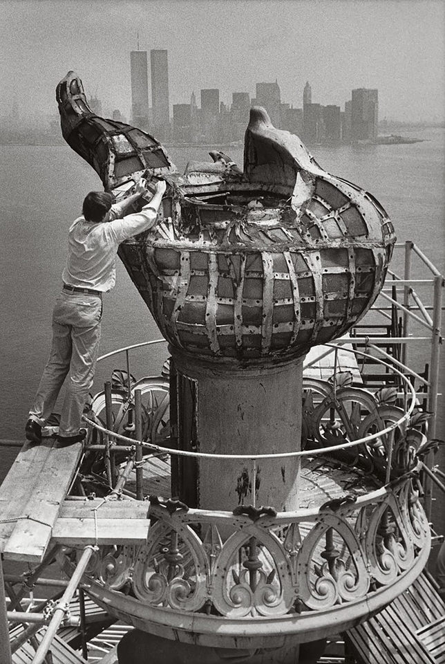 removal of the torch in 1985 1