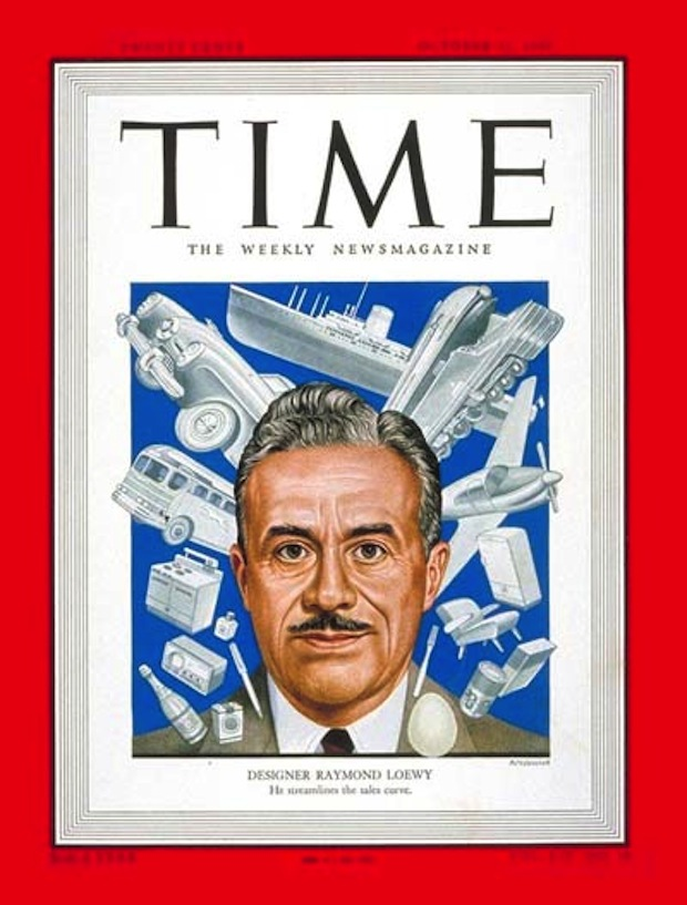 TIME Cover with Raymond Loewy