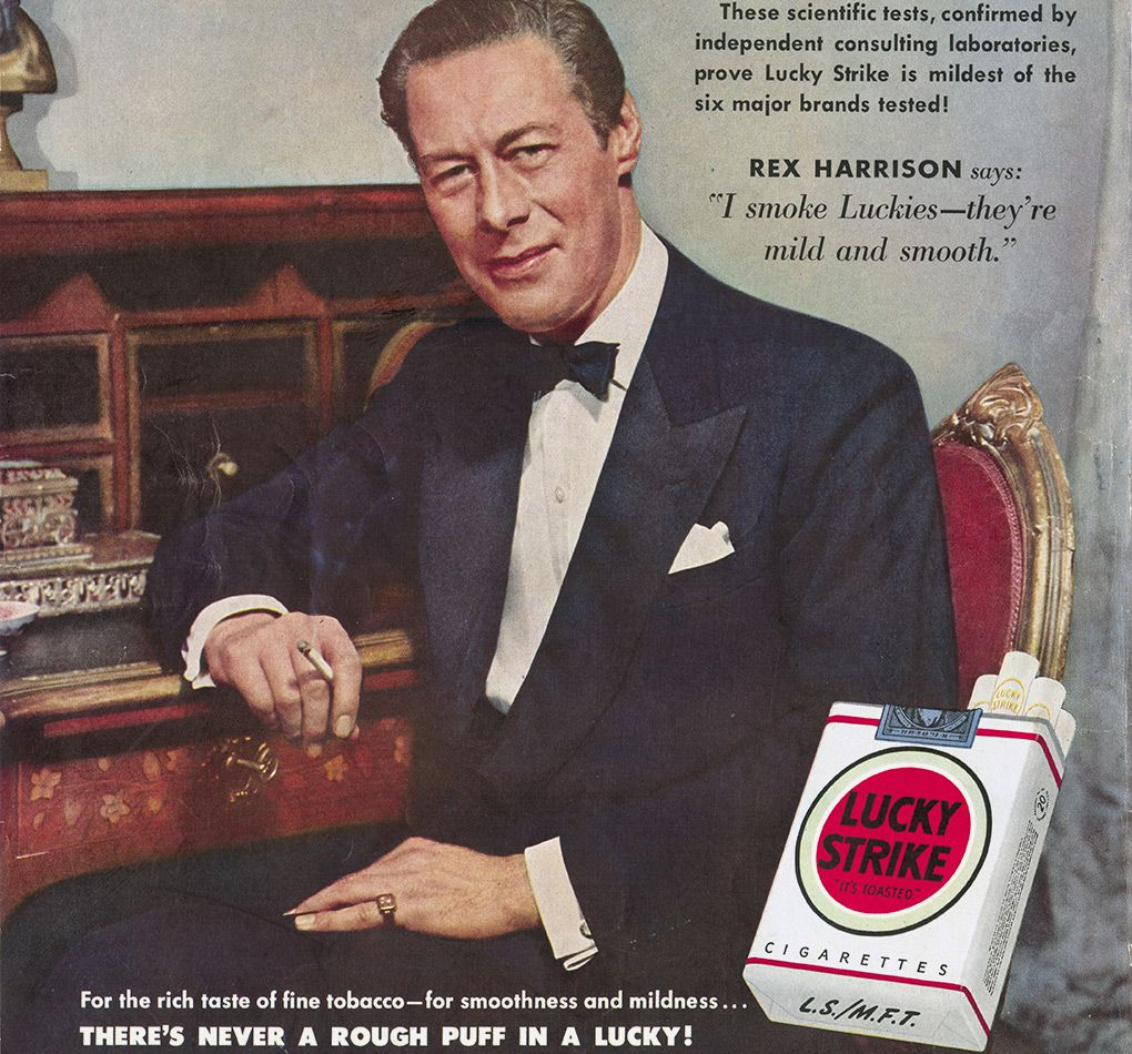 lucky strike advert